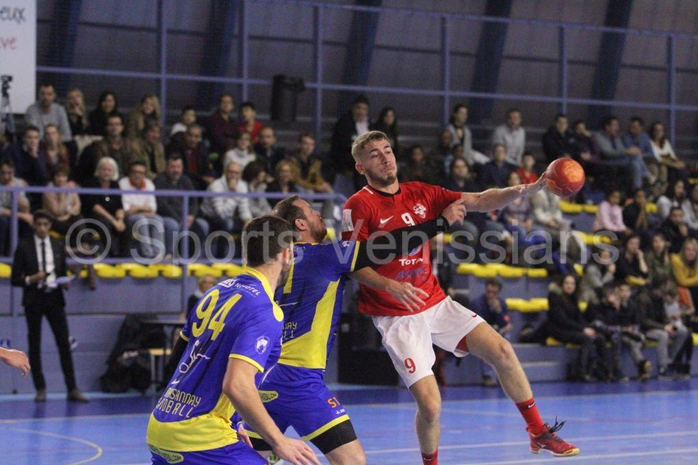 En gagnant contre Marsannay, Vénissieux Handball réalise la passe de 3