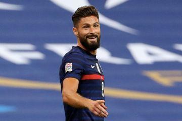 une photo du joueur de football Olivier Giroud