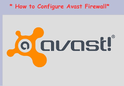 What are the steps to set up firewall application in Avast Antivirus?