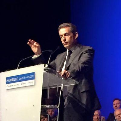 Grand meeting avec Nicolas Sarkozy