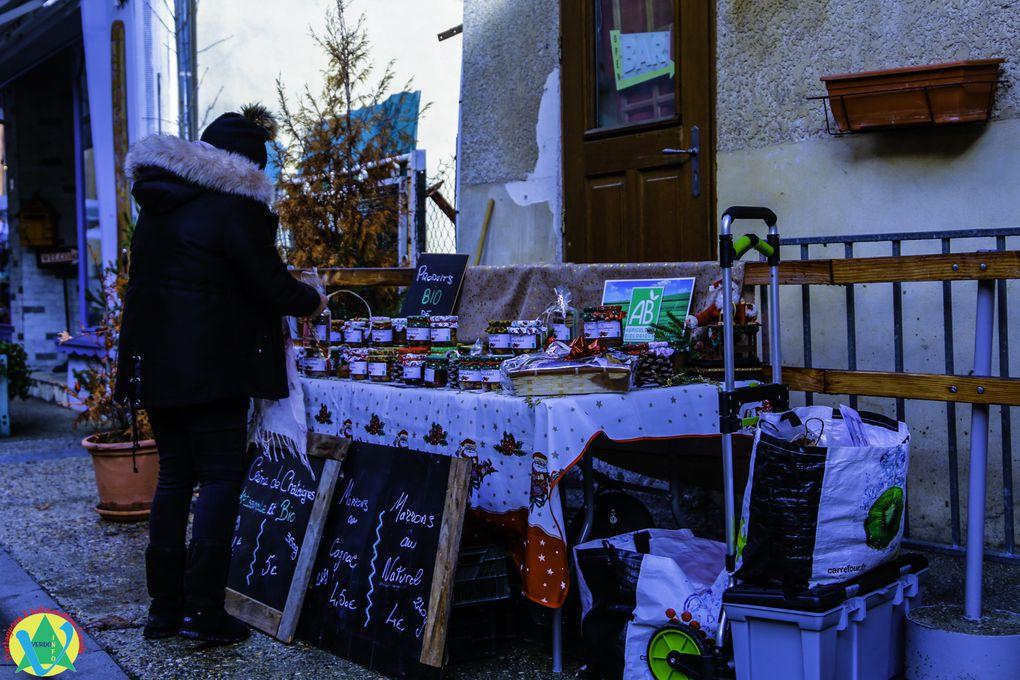 St André les Alpes  : Marché de Noel