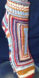 Neue Patchwork-Socken