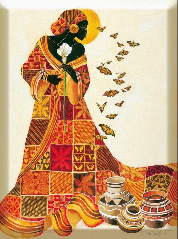 La mujer africana.- El Muni.