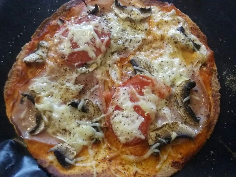 Tortizza ou pizza tortilla