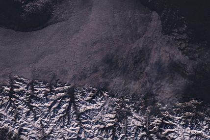 Froid, neige et glace en Europe : l'hiver vu de l'espace