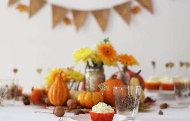Halloween fall table : déco & douceur