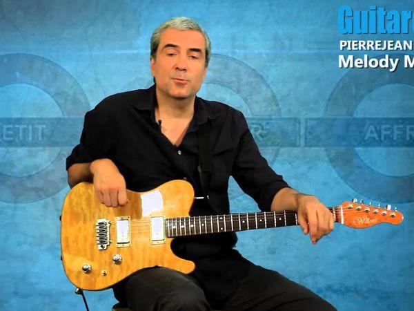 pierre jean gaucher, un grand guitariste français qui fit partie du groupe abus dangereux et qui depuis a multiplié les expériences