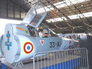 Allons dans les stands avec des nez de Mirage IIIR et de Sepecat Jaguar du BCRE.