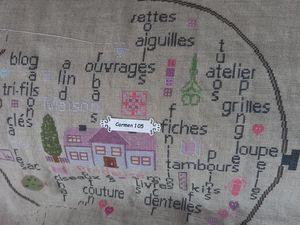 """SAL """"TAMBOUR DE BRODEUSE"""" - Photos de l'objectif 9 - 2ème partie"""