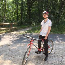 La semaine cycliste de Maxime