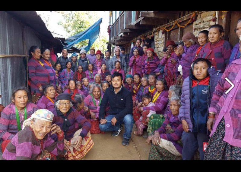 NEPAL. Le village de Puthalika se reconstruit pas à pas