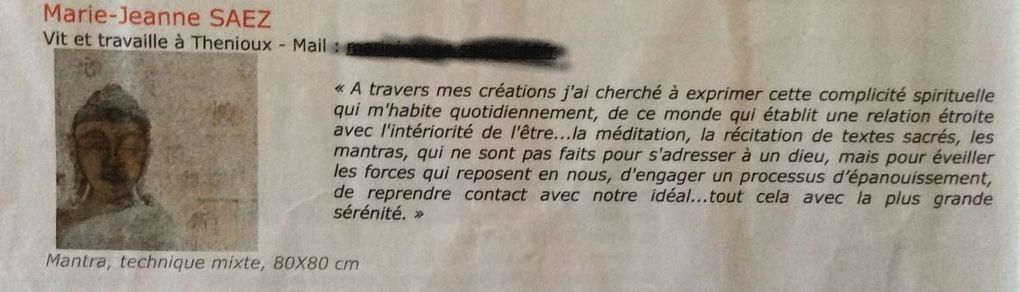 "2013 ""En Quête de spiritualité"" Atelier Agora Eyguières  (13)"