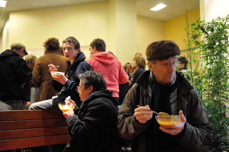 """""""De passage dans votre région, nous avons énormément apprécié l'après midi passé avec vous au concours Mange ta soupe ! de Carentan. Cordialement, Jean Philippe Michot www.jpmichot.fr"""