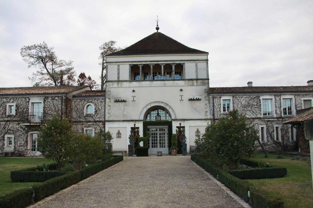 Les châteaux autour de Léognan
