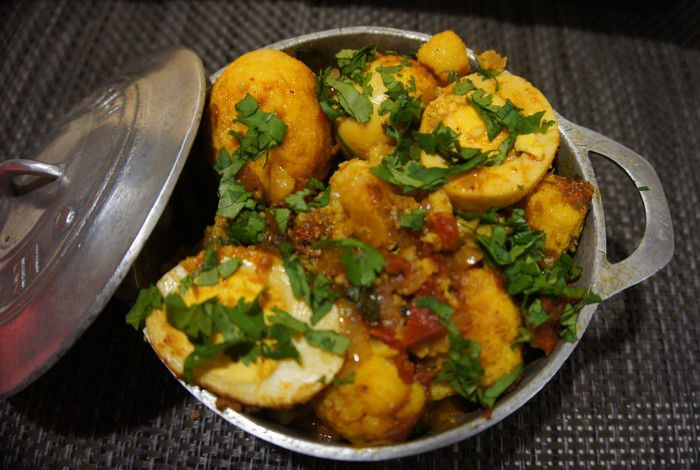 Curry d'œufs Mauricien