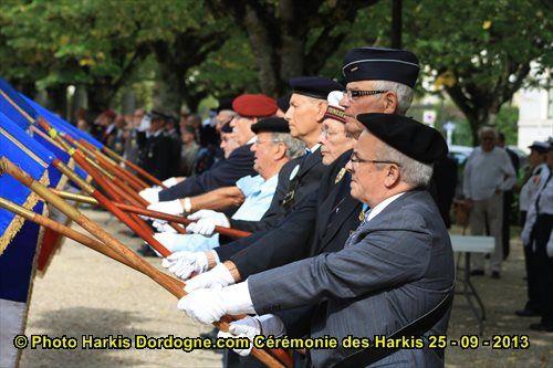 Cérémonie d'hommage aux Harkis à Périgueux