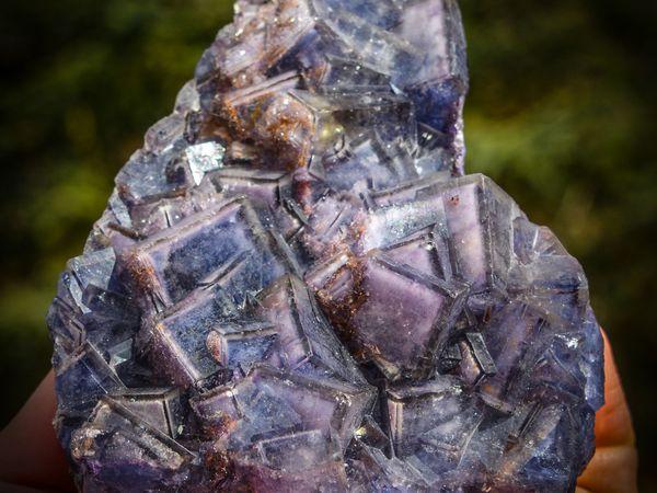 Fluorite from Yiwu Mine, Zhejiang Prov, China (size: cabinet)
