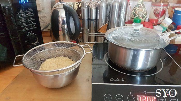 Cuisses de Poulet marinées, Céleri, Massalé au Cookeo