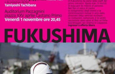 L'ex premier giapponese Naoto Kan a Castano Primo per presentare il film su Fukushima
