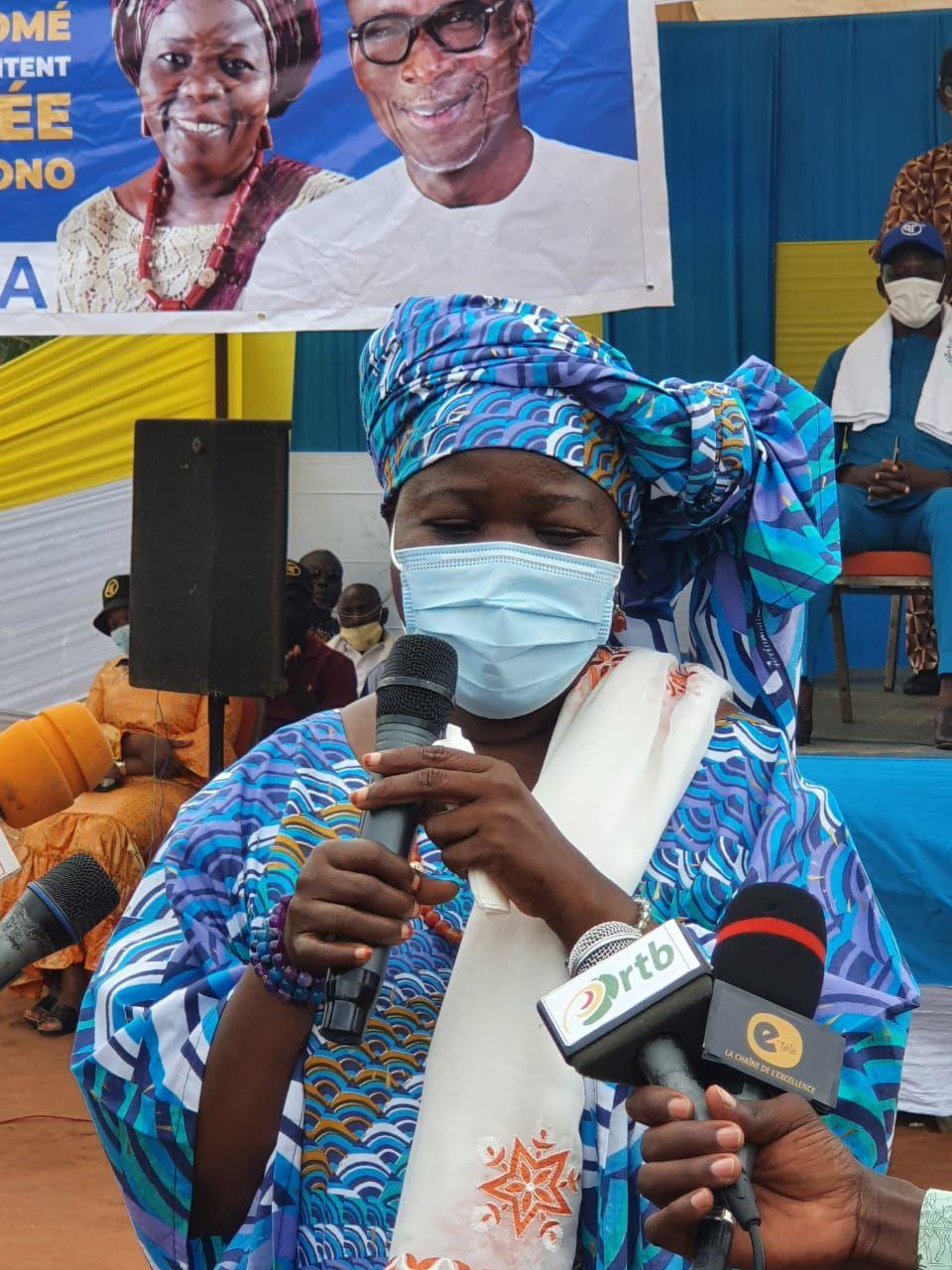 Mariam Chabi Zimé Talata, colistière du Président Patrice Talon