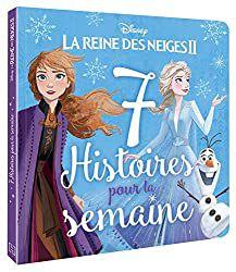 7 Histoires pour la semaine (La Reine des Neiges II) - Vendredi (La Rivière secrète) [Dossier Lecture][Reine des Neiges][Maternelle][CP]