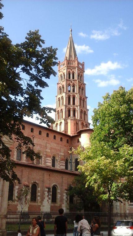 Notre Dame du Taur (1)  La Basilique Saint Sernin (2 et 3)  La Cathédrale Saint Etienne (4 à 9)