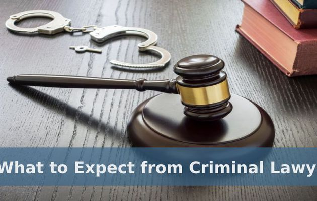 What to Expect from Criminal Lawyers