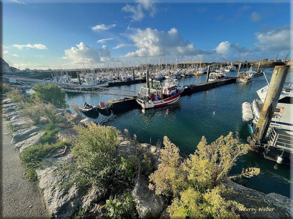 Le port de La Turballe en Octobre