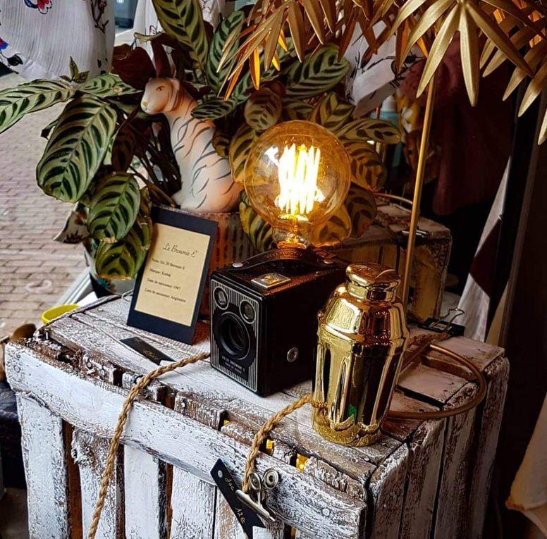 Une lampe avec un petit goût de vintage