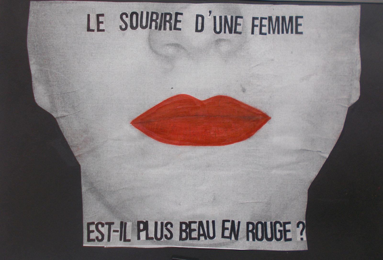 Projet d'affiches féministes, EPI CCA suite et fin