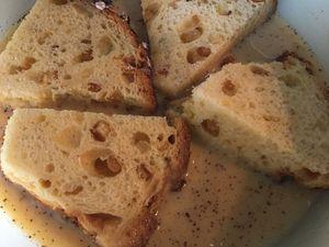 Brioche façon pain perdu aux agrumes