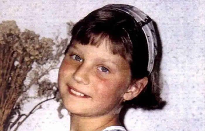 Portrait de Marion Wagon, disparue le 14 novembre 1996 à l'âge de dix ans - ARCHIVES / AFP