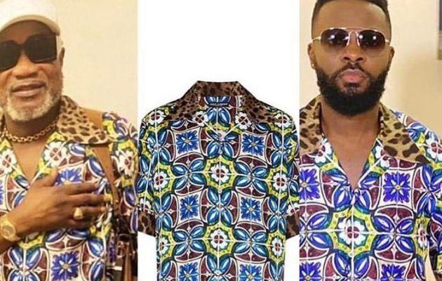 Koffi Olomide et Héritier Watanabe s'offrent une chemise Dolce & Gabbana à 895 Euros
