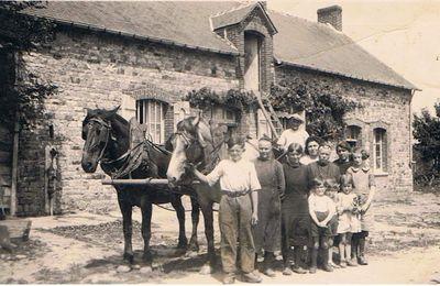 Anna est seule pour élever ses enfants à la ferme de La Touche
