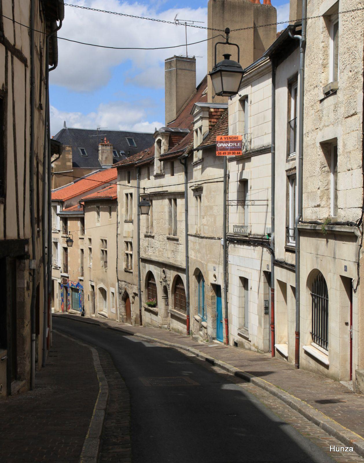 Poitiers, rue des Trois Rois
