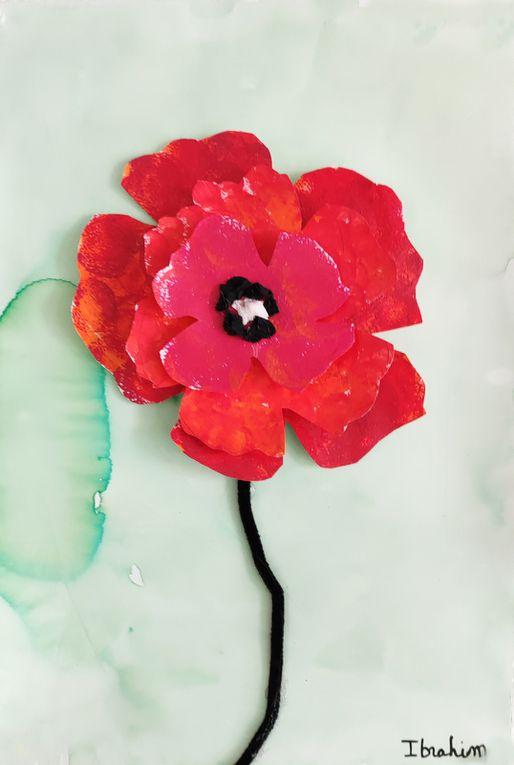 Fleurs en 3D