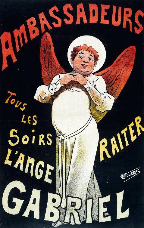 PUBLICITES :  LES GRANDS NOMS DE L'AFFICHE...    ALFRED  CHOUBRAC