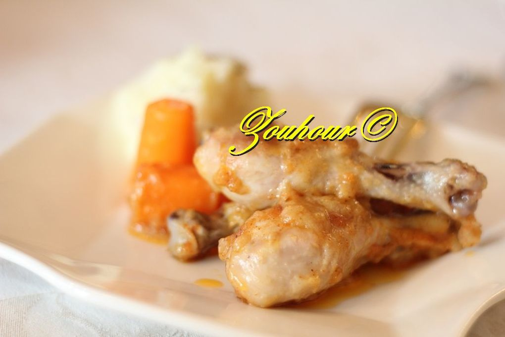 Poulet frit au four (oven fried chicken)