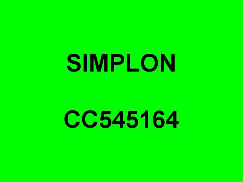 SIMPLON  CC545164