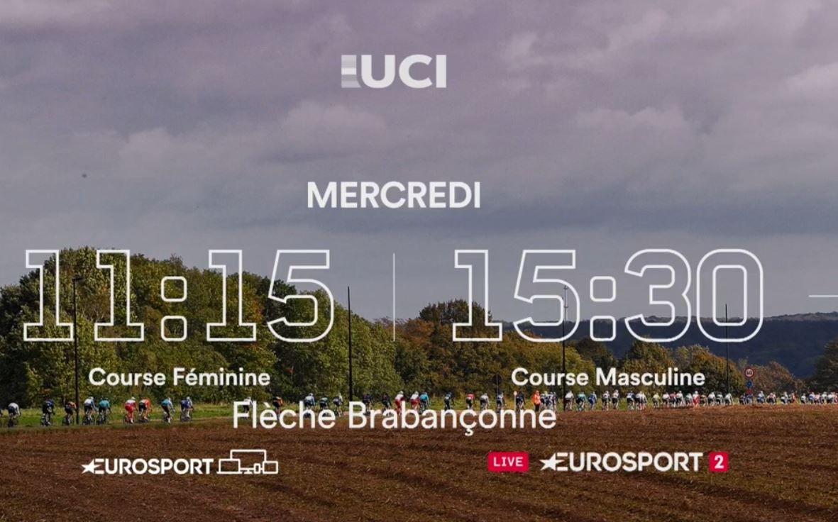 La Flèche Brabançonne : Sur quelles chaînes suivre en clair la course mercredi ?