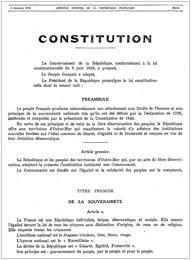 Appel pour ancrer l'écologie dans la Constitution, oui, en attendant une nouvelle Constitution vraiment démocratique ancrée sur l'écologie humaniste.