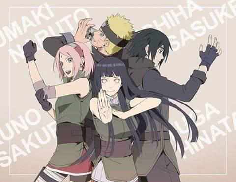 Les Chroniques de Naruto Uzumaki et Hinata Hyuga -...