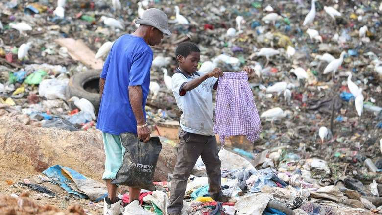 Going to waste: The kids who survive on Gabon's garbage dumps