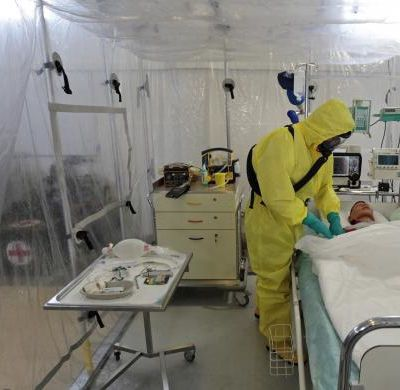 Isolation ward for Ebola Virus Patients