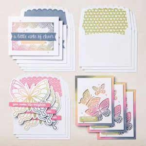 156991 Kit de cartes Notes amicales notes of cheer stampinup