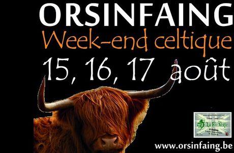 Fête à Orsinfaing 2014 : celtique !