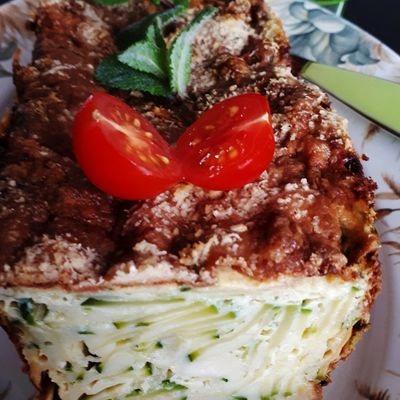 Cake invisible aux courgettes