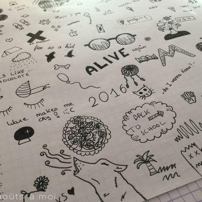 Les doodles ou dessins tumblr