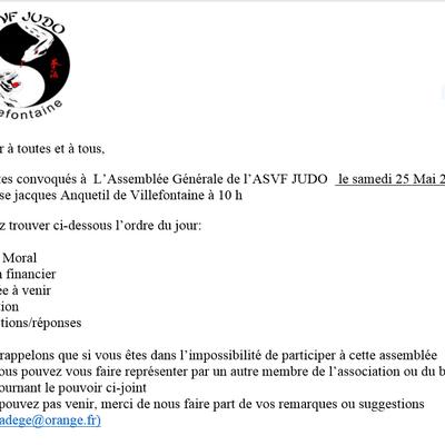 AG asvf judo 2019