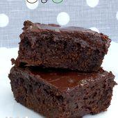 """Le """"smart"""" C&C : Fondant chocolat courgette - Les gourmands {disent} d'Armelle"""